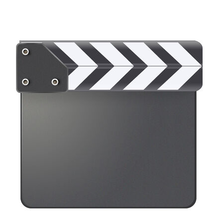 Scalable closed clapboard black