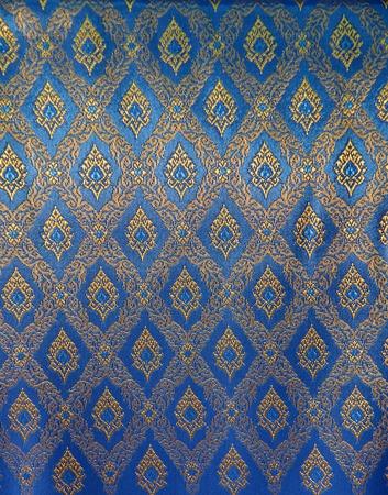 Thailand pattern silk background