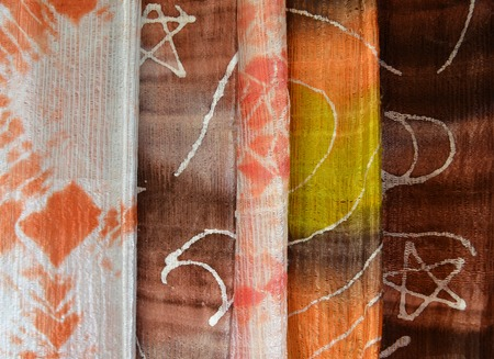 Colorful fabric background 版權商用圖片