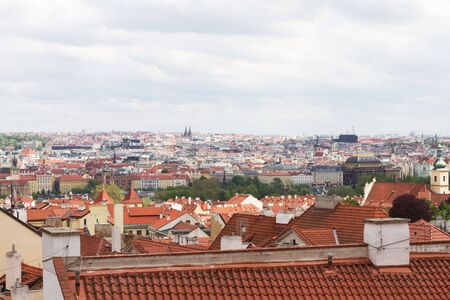 View on the Prague, Czech Republic. Stock Photo