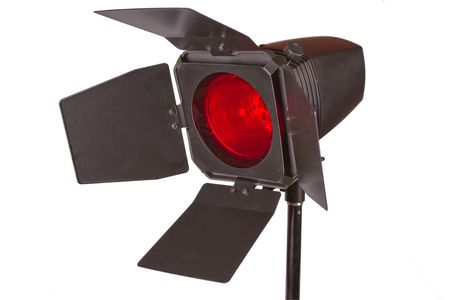 Lamp unit with red light filter Stock Photo - 7047794