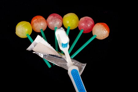 Take care of your teeth after sweets
