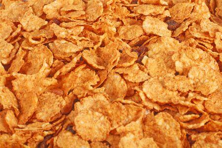 goldish: Background of goldish corn flakes