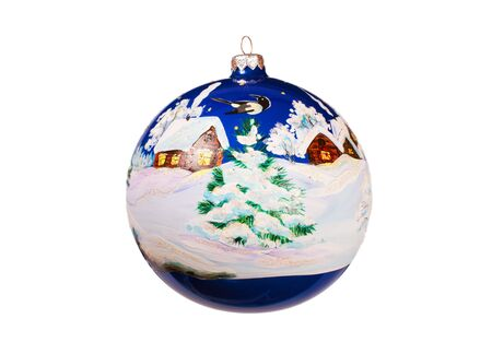 Christmas ball on a white background Stock Photo - 7483781