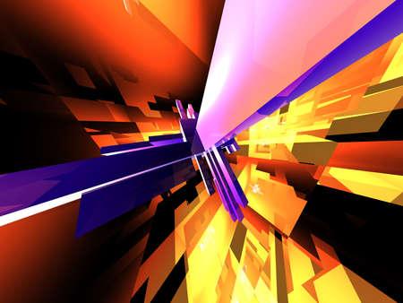 raytrace: Abstraktum 6