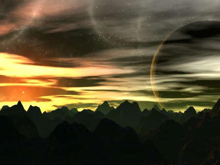 voyager: Sunset on Xilis 8