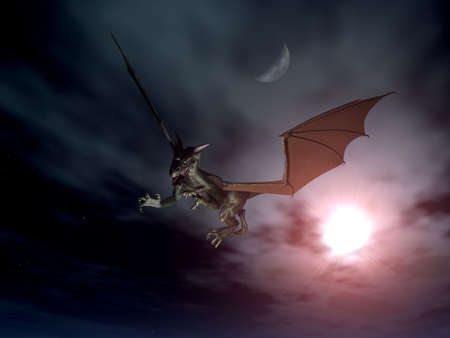 archaic: Dragon Attack - Night Scene