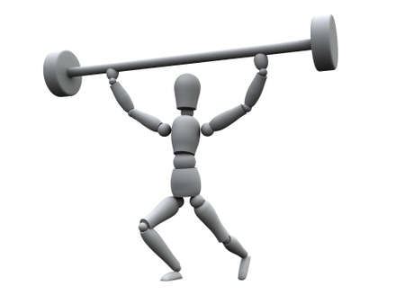 Weightlifter Stock Photo - 505906