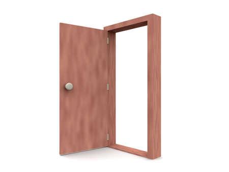 cartoon frame: Open Door - Cartoon stile 2