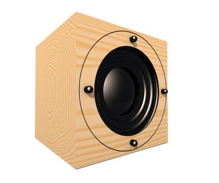 Cubic Speaker 1 Stock Photo - 529429