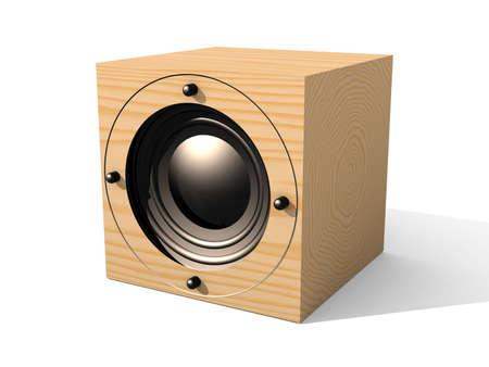 Cubic Speaker 2 Stock Photo - 529540
