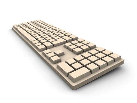 Keyboard - beige