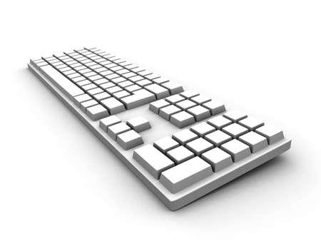 Keyboard - white