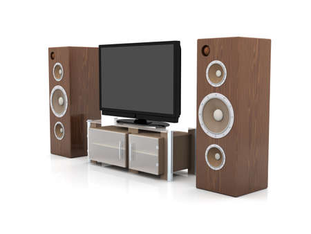 Home Entertainment System Stock Photo - 1737573