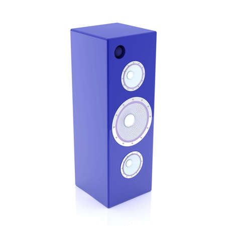 Blue HiFi Speaker Stock Photo - 1874174