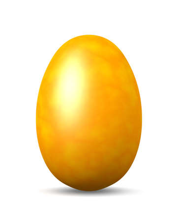 easteregg: Yellow  Easteregg Stock Photo