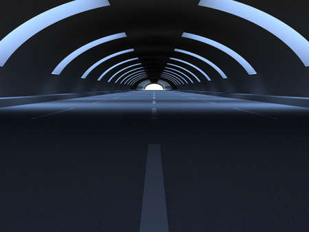 highway tunnels: Tunnel