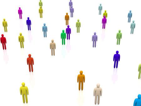 Diversity Crowd photo