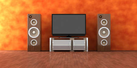 Home Entertainment System Stock Photo - 2223408