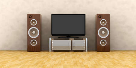 Home Entertainment System Stock Photo - 2223441