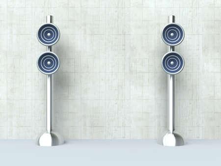Design Speaker - Interior Stock Photo - 2460674