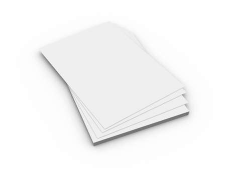 stack of files: Paper Sheets
