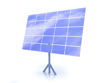 reflecting: Solar Energy Stock Photo