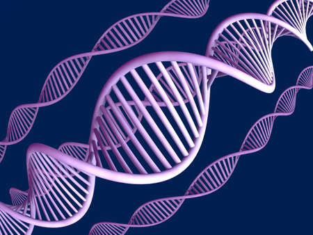 nucleic: DNA  Stock Photo