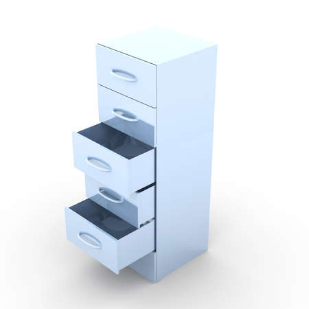 compartment: Metal Filing Cabinet