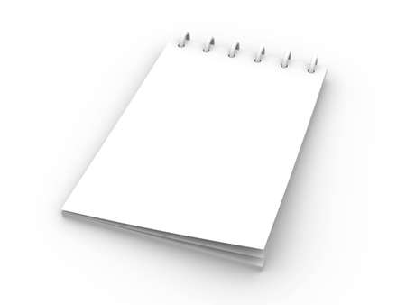 Writing Pad Banque d'images - 2608144
