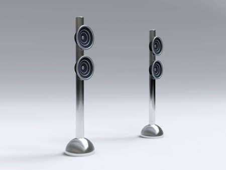 Design Speakers Stock Photo - 2850987