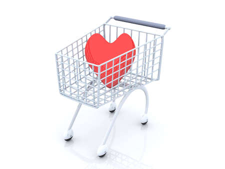 Shopping for Love Stock Photo - 2947295