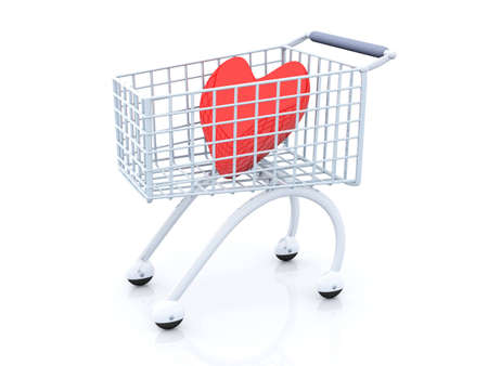Shopping for Love Stock Photo - 2947296