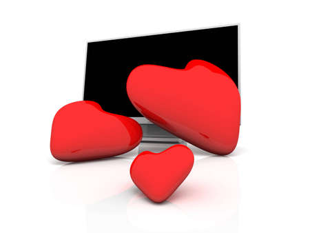high resolution: Display with three Hearts