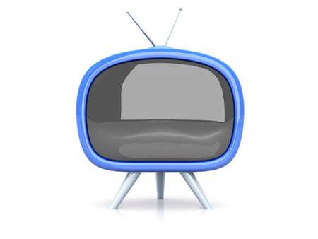 Retro TV photo