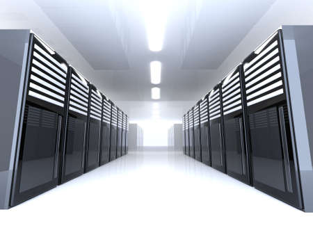 bandwidth: Server Room - wide angle
