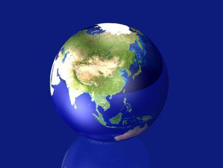 glas: Glassy Globe - Asia