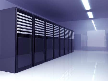 fileserver: Server Room Stock Photo