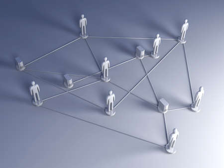 newsgroup: Social Network Stock Photo