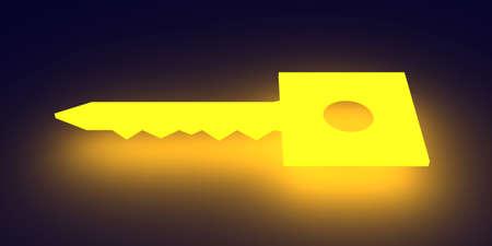 enlightened: Glowing Key