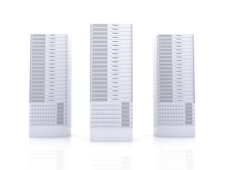 webspace: Server towers