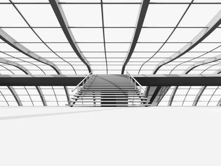 Architecture visualisation Stock Photo - 5881864