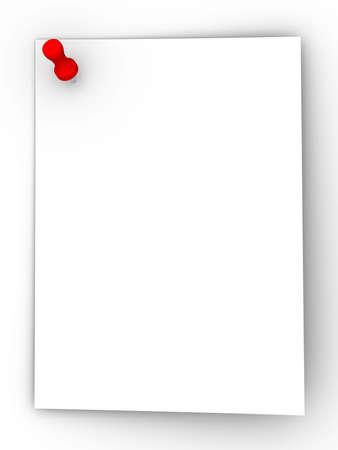 unfold: Paper sheet Stock Photo
