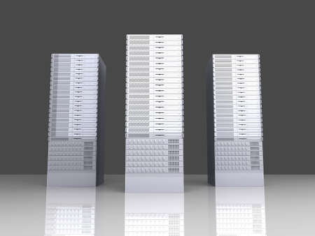fileserver: 19inch Server Towers
