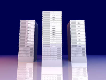 webspace: 19inch Server Towers