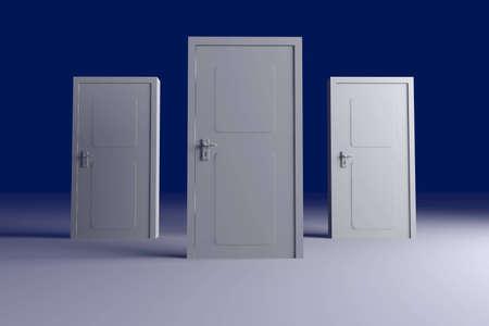 multiple choice: Doors