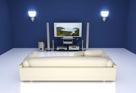 home cinema: Entertainment Room