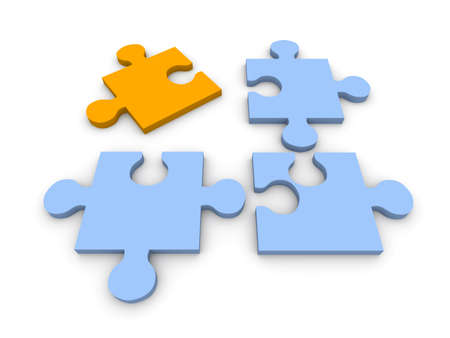 Puzzle Solution Stock Photo - 6024353