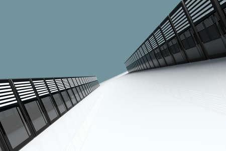 fileserver: 3D Illustration.