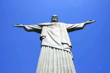 Statue of Jesus Christ on the Corcovado in Rio de Janeiro. Stock Photo - 6883940